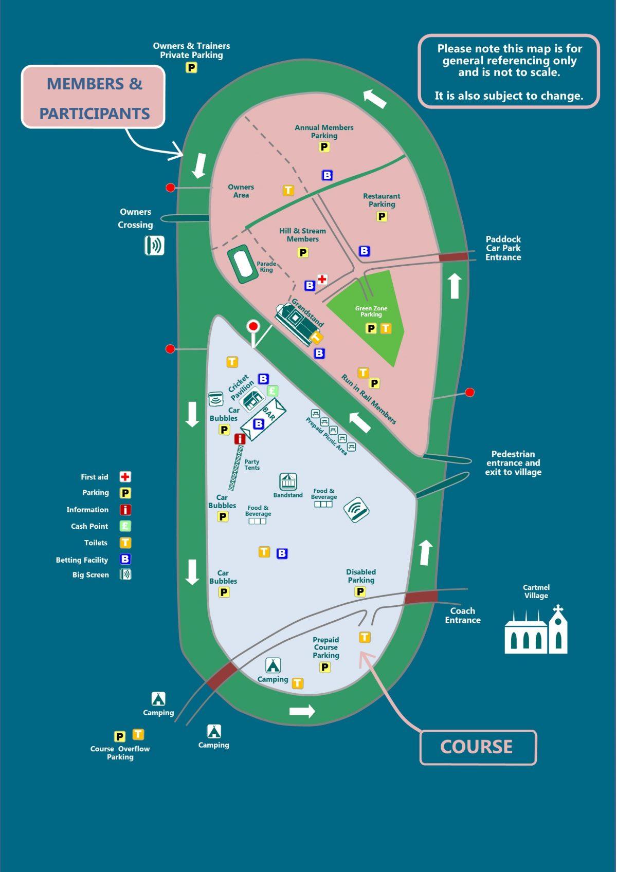 Cartmle map